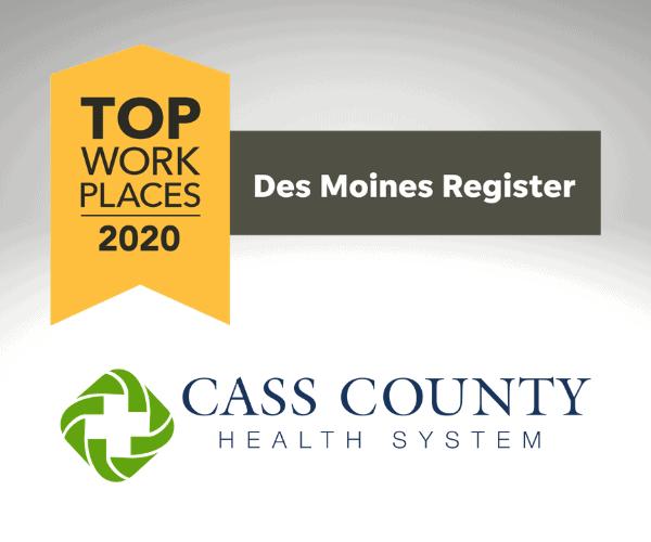 DM Register Logo and CCHS Logo